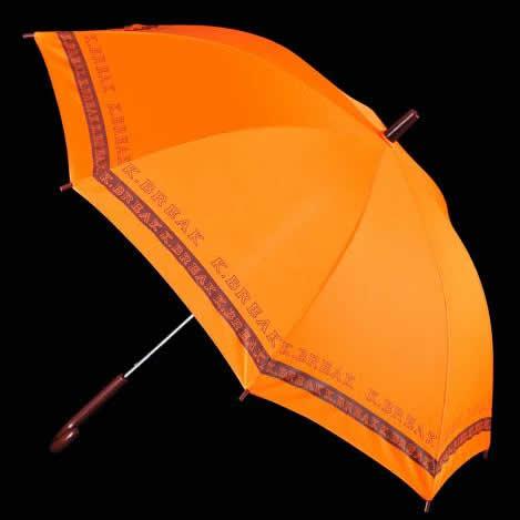 オレンジロゴタイプ傘